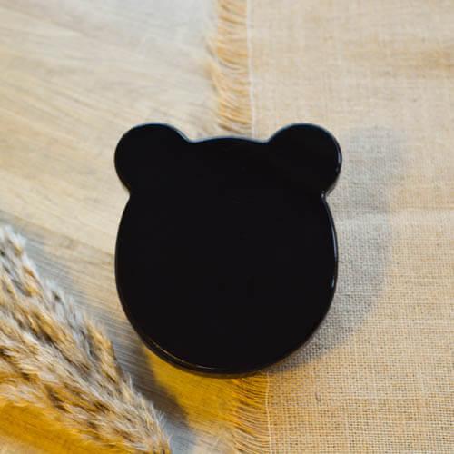 Crystal Kalimba 17 Bear Black 04