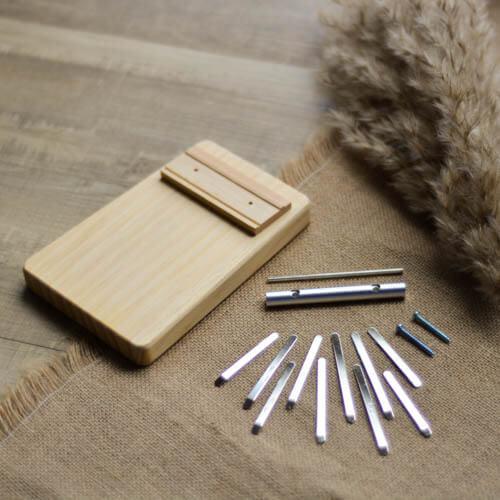 DIY Kalimba 10 Keys in Pine 01