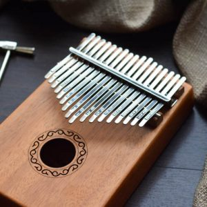 Kalimba 17 Mahogany Classical Original 04