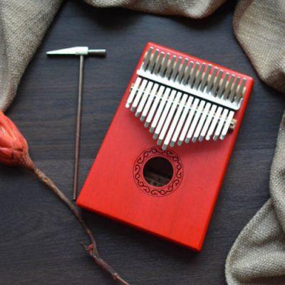 Kalimba 17 Mahogany Classical Red 01