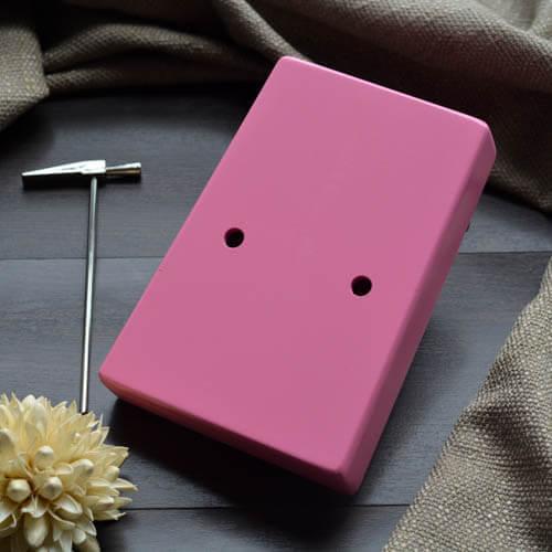 Kalimba 17 Pine Round Pink 03