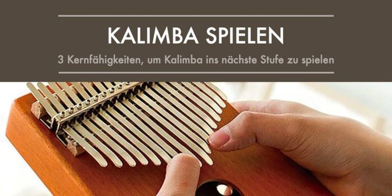 kalimba spielen