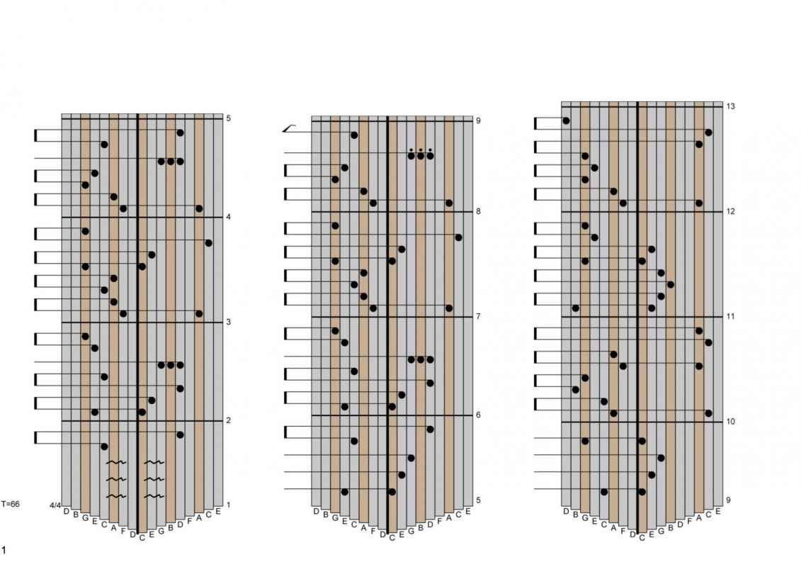 Kalimba Tab Down by the Salley Gardens 01